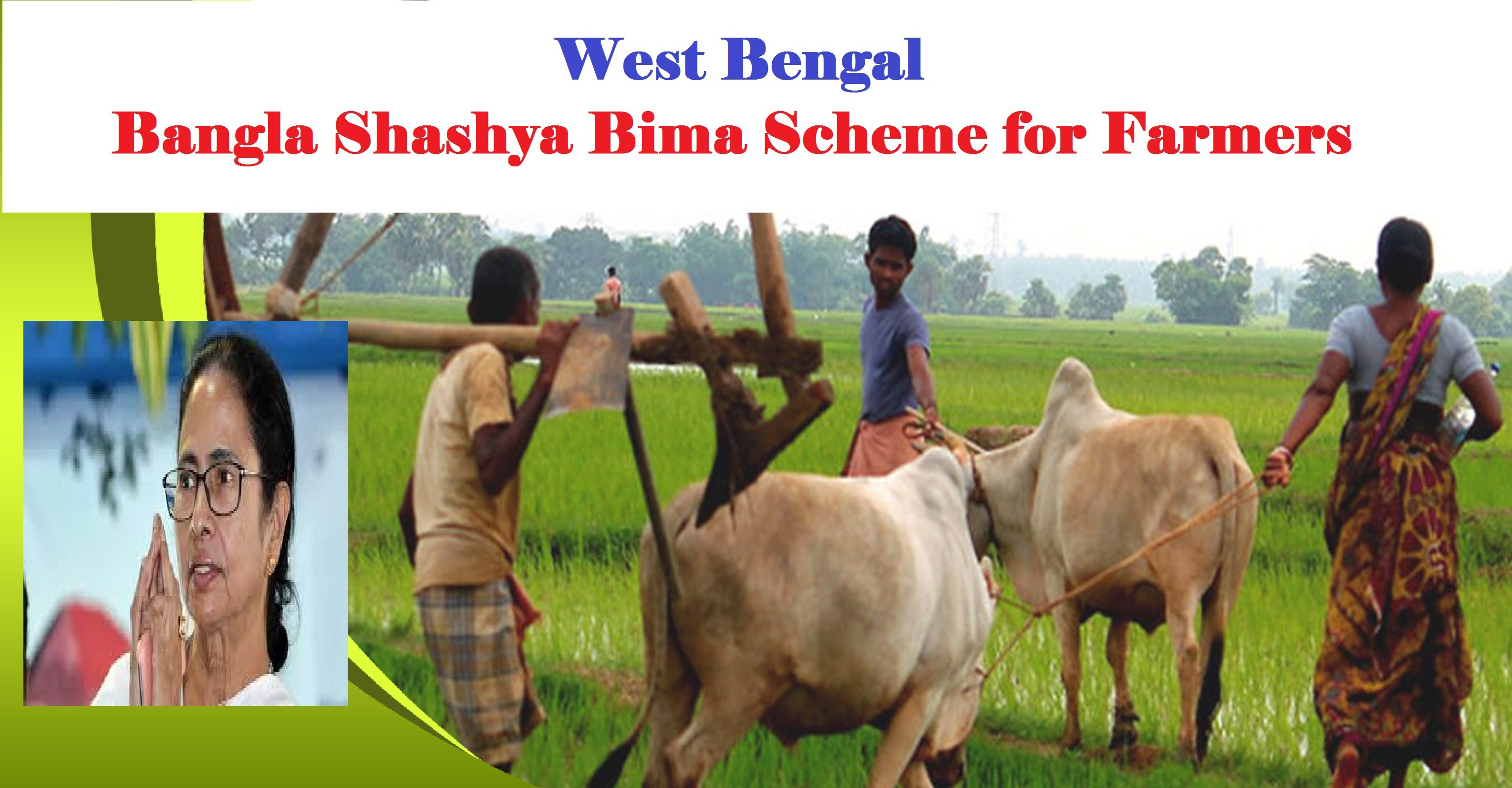 WB Bangla Shashya Bima Scheme Online Registration, Status, List