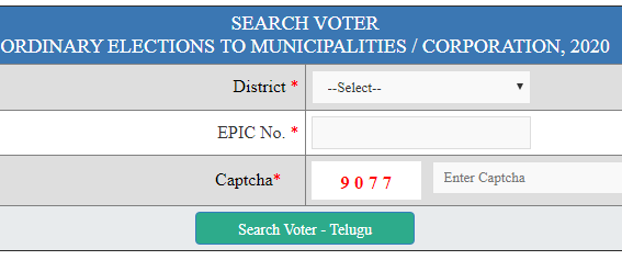 Municipality Voter Slip Download